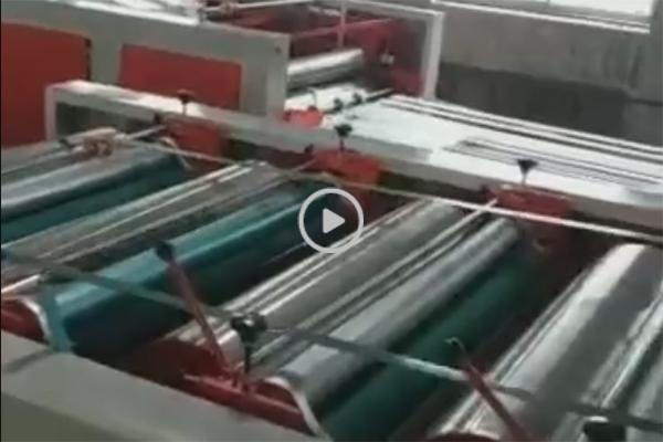 普通版编织袋切缝印收一体机