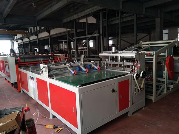 甘肃塑料编织袋切缝印收一体机