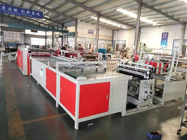 透明袋切缝印收一体机